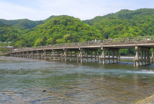 Arashiyama-Bridge